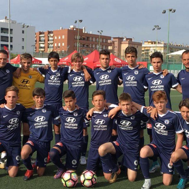 Escuela de fútbol del Club Figueroa