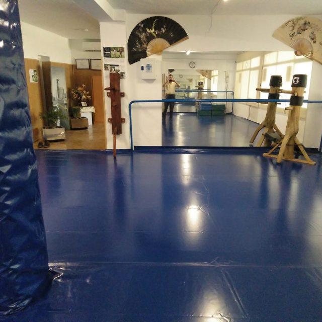 Escuela deportiva de artes marciales del Club Figueroa